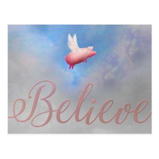 Glauben-Besuch mein Speicher an: Postkarte