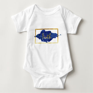 Glauben-Bodysuit Baby Strampler