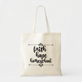 Glauben-Hoffnung Homeschool Tasche