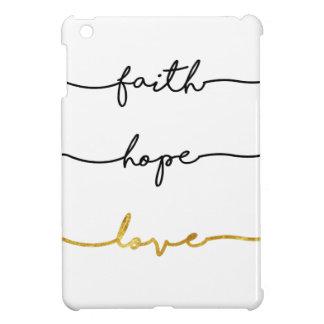 Glauben-Hoffnungs-Liebe iPad Mini Hülle