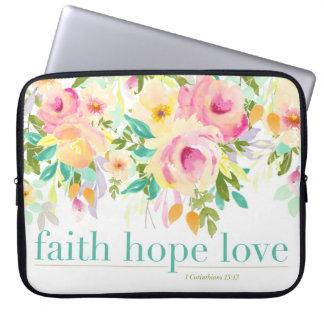 Glauben-Hoffnungs-Liebe| Laptop Sleeve