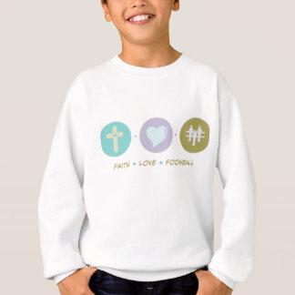 Glauben-Liebe Foosball Sweatshirt