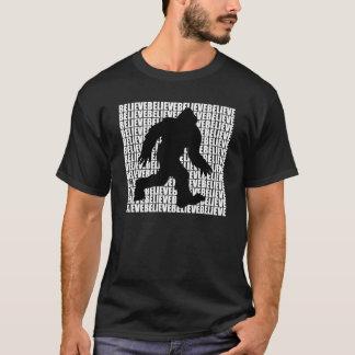Glauben Sie an Bigfoot T-Shirt
