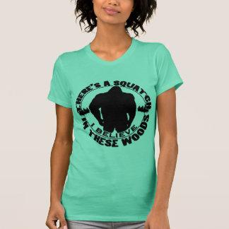 Glauben Sie an das Squatch T-Shirt