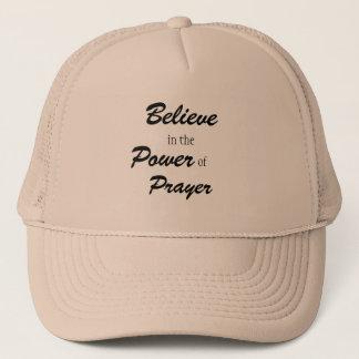 Glauben Sie an den Power des Gebets, Truckerkappe