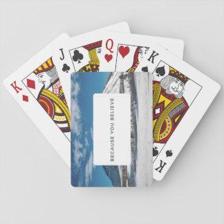 Glauben Sie an die unbekannten Spielkarten