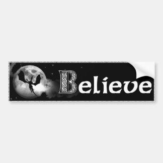 glauben Sie an Drachen Auto Sticker