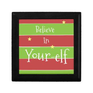Glauben Sie an Ihren Elf Geschenkbox