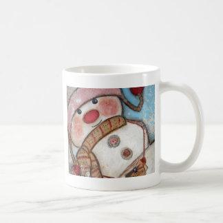 Glauben Sie an Schneemänner Kaffeetasse