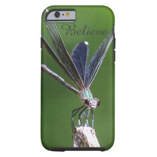Glauben Sie Damselfly-Natur iPhone 6/6s Fall Tough iPhone 6 Hülle