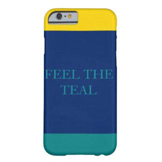 Glauben Sie den aquamarinen 2 Barely There iPhone 6 Hülle