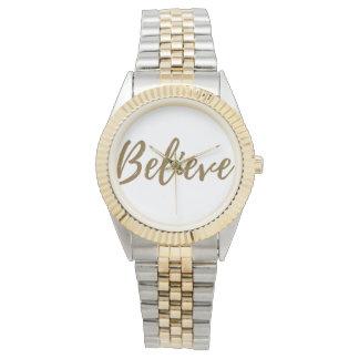 Glauben Sie der Uhr der Frauen