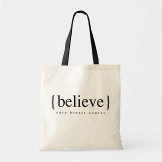 Glauben Sie Einkaufstasche