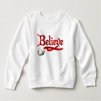 Glauben Sie Jingle Bell Sweatshirt