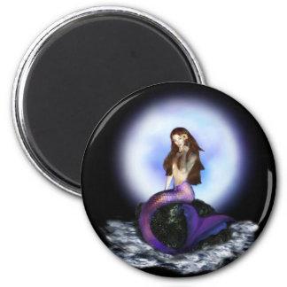 Glauben Sie Meerjungfrau-Magneten Runder Magnet 5,1 Cm