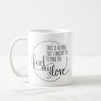 Glauben Sie meiner Liebe-Kaffee-Tasse Kaffeetasse