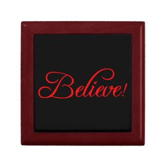 Glauben Sie! .png Geschenkbox