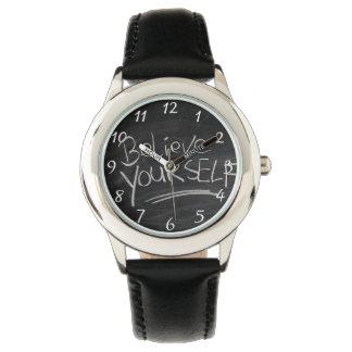 Glauben Sie sich Armbanduhr