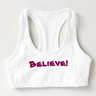 Glauben Sie!  Sport-BH
