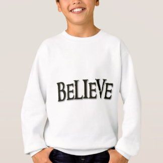 Glauben Sie Sweatshirt
