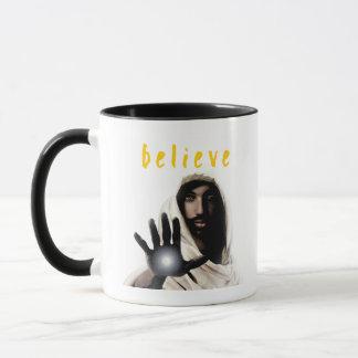 Glauben Sie Tasse