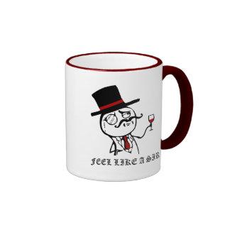 Glauben Sie wie ein Sir Kaffee Haferl