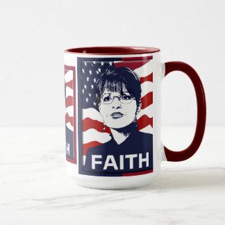 Glauben-Tasse Sarahs Palin Tasse