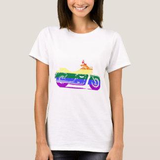 GLBT Motorrad-Stolz T-Shirt
