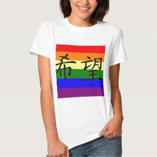 """GLBT Stolz """"Hoffnung """" T Shirts"""