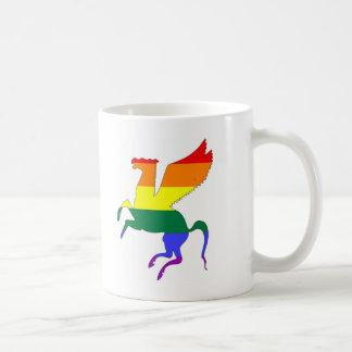 GLBT Stolz Pegasus Kaffeetasse