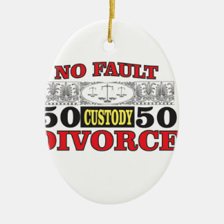 Gleichheit 50 der fehlerlosen Scheidung 50 Keramik Ornament