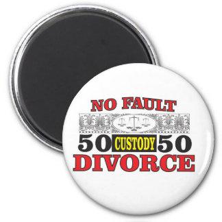 Gleichheit 50 der fehlerlosen Scheidung 50 Runder Magnet 5,1 Cm