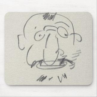 Gleichheit Lui-Meme (Bleistift Gebührnde Lautrec a Mauspad
