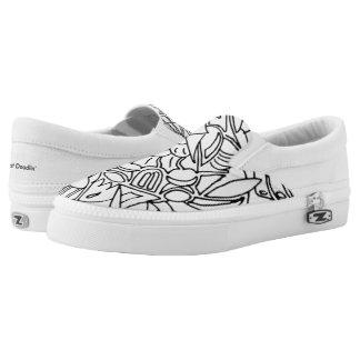 Gleiten Sie auf den Schuhen, bequem und oh so Slip-On Sneaker