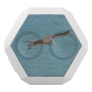 Gleitener Pelikan Weiße Bluetooth Lautsprecher