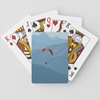 Gleitschirm-Gleitschirmfliegen-Fliege Spielkarten