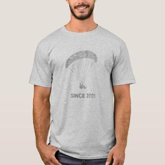 Gleitschirm -- Kundengerechter Text T-Shirt