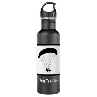 Gleitschirm-Logo - fertigen Sie den Text auf Trinkflasche