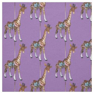Glen-Echo-Giraffe - lila Stoff