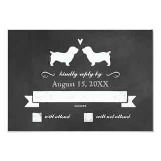 Glen von Imaal Terriern, die Antwort UAWG Wedding 8,9 X 12,7 Cm Einladungskarte