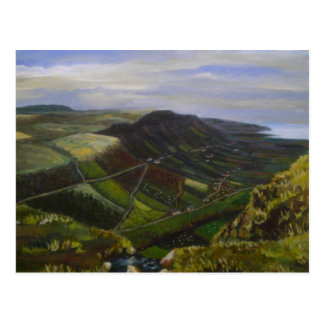 Glenariff, Schluchten von Antrim-Ölgemälde - J Postkarte