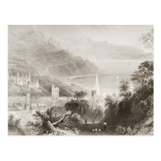 Glenarm, Landkreis Antrim, Nordirland Postkarte