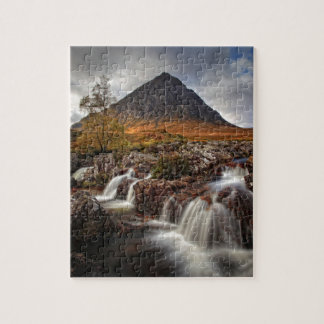 Glencoe, Buchaille Etive MOR, Schottland Puzzle