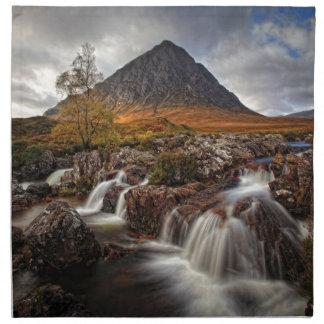 Glencoe, Buchaille Etive MOR, Schottland Serviette