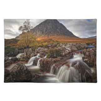 Glencoe, Buchaille Etive MOR, Schottland Stofftischset