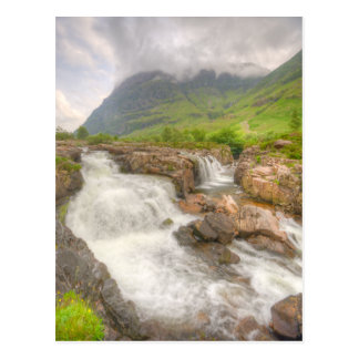 Glencoe Landschaft Postkarten