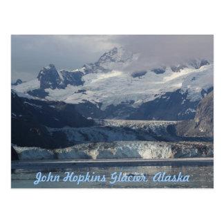 Gletscher-Alaska-Postkarte Johns Hopkins Postkarte