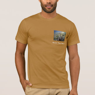 Gletscher-Ansicht-Ranch T-Shirt