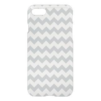Gletscher-graues Weiß-Zickzack Muster iPhone 8/7 Hülle