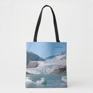 Gletscher und Fireweed Tasche